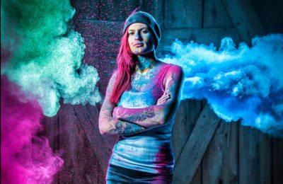 Farbpulver, Farbwerk, Tattoo, Lorenz Masser, Land Salzburg