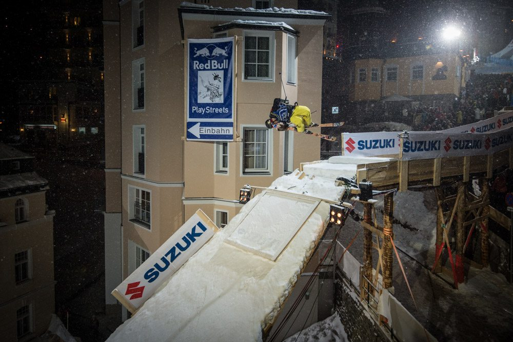 Red Bull, Playstreets, Skiing, Sportfotograf, Land Salzburg Fotograf, Lorenz Masser
