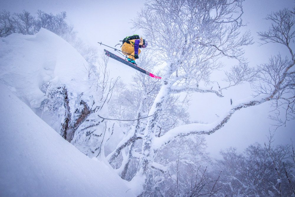 Japow, Skiing, Winter, Japan