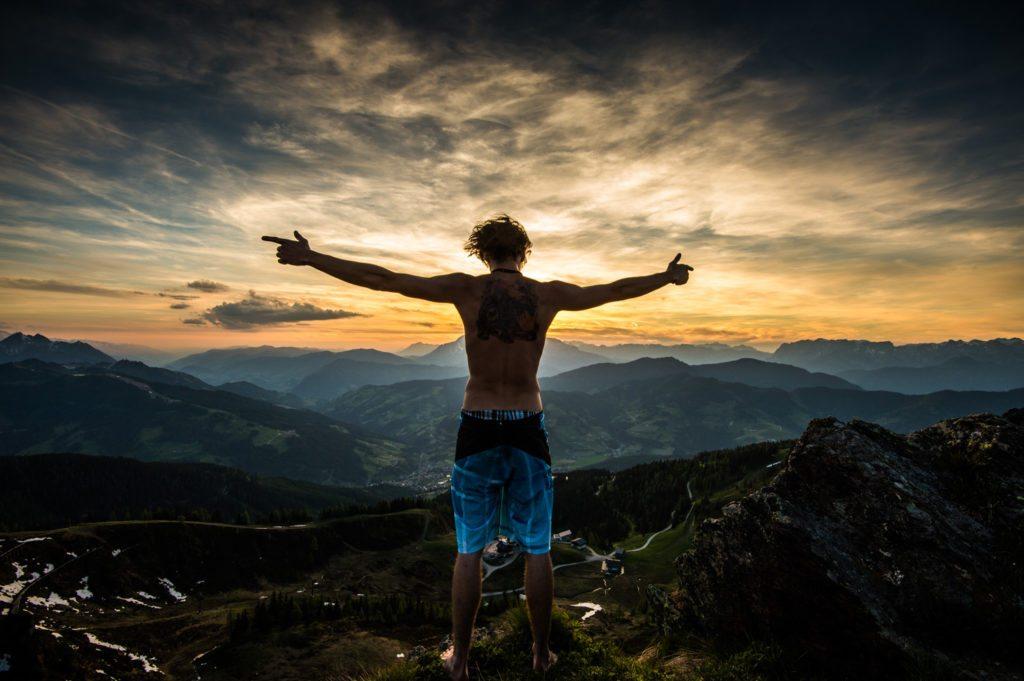 Sonnenuntergang, Grießenkareck, Flachau, Reisefotografie, Travelling, Reisen, Landschaft, Landscape, Landschaftsfotografie, Lorenz Masser