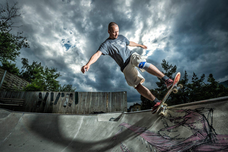 Skateboard, Radstadt, Lorenz Masser, Lemming Bowl, Radstadt, Fotograf Land Salzburg, Lorenz Masser