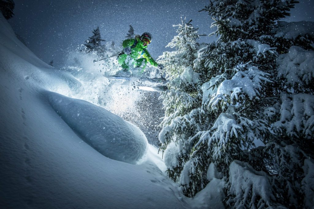 Tine Huber, Night Pillow Session, Ski, Action, Sportfotograf, Sports Photographer, Lorenz Masser