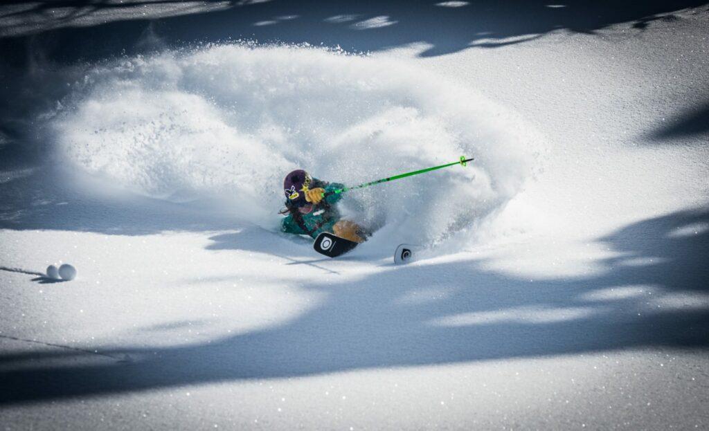 Eva Walkner, San Marino di Castrozza, Powder, Snow, Winter, Action, Sportfotograf, Lorenz Masser