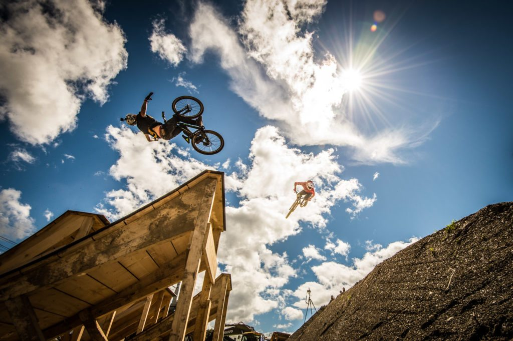 rankworx, MTB, Les Gets, Portes du Soleil, Martin Söderström, Keegan Wright, Slopestyle, Donwhill, Pumptrack, Action, Sportfotograf, Sports Photographer, Lorenz Masser