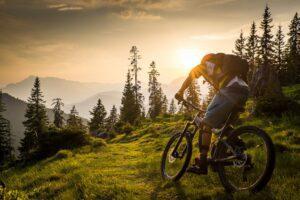 Mountainbike, MTB, Sunset, Action, Sports Photographer, Lorenz Masser, Sportfotografie