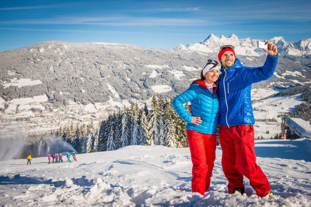 Tourismus, Selfie, Werbung, Ski Amade, Radstadt, Fotograf, Lorenz Masser