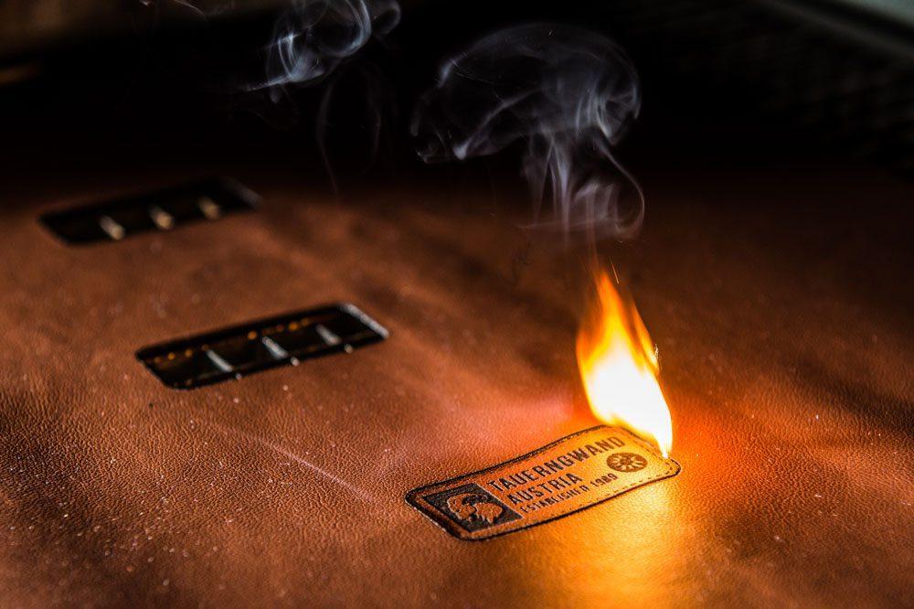 Werbefotograf Eben, Toferer Textil, Feuer